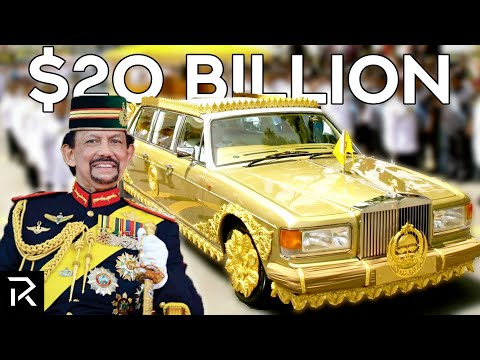 How The Sultan Of Brunei Spends $20 Billion