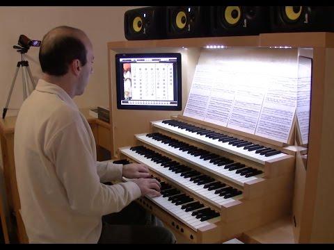 """Bach - BWV 552 Prelude in E flat major """"St. Anne"""" (hauptwerk, Laurenskerk, Rotterdam)"""