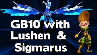 Summoners War - Giants B10 Speed Team with Lushen and Sigmarus - GB10 Team with 2 Nukers
