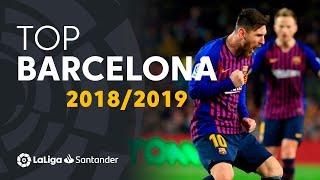 TOP Goles FC Barcelona LaLiga Santander 2018/2019