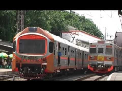 Kenangan Naik  KRL   Kereta Rel Listrik Jakarta Bogor 2009