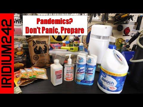 Coronavirus:  Don't Panic, Prepare!
