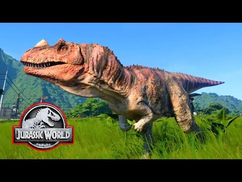 MY FIRST DINOS! - Jurassic World Evolution #1