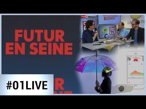 3 innovations soutenues par La Poste / Futur en Seine 2016