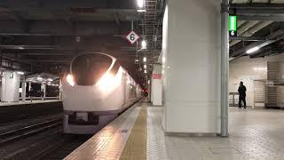 JR常磐線E657系 特急ひたち19号仙台行き 仙台到着