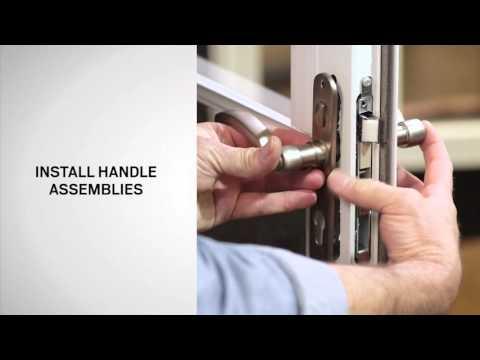 Handle Replacement on Andersen® Full-Lite Self-Storing Storm Doors