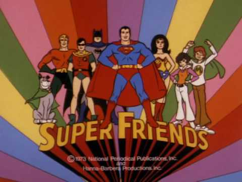 Super Friends Intro 1973 Youtube