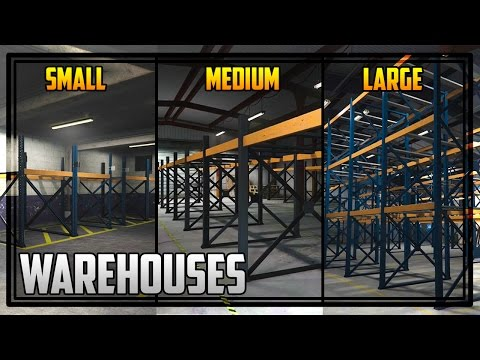 GTA 5 'Finance & Felony' Warehouses Explained + All Sizes Comparison!