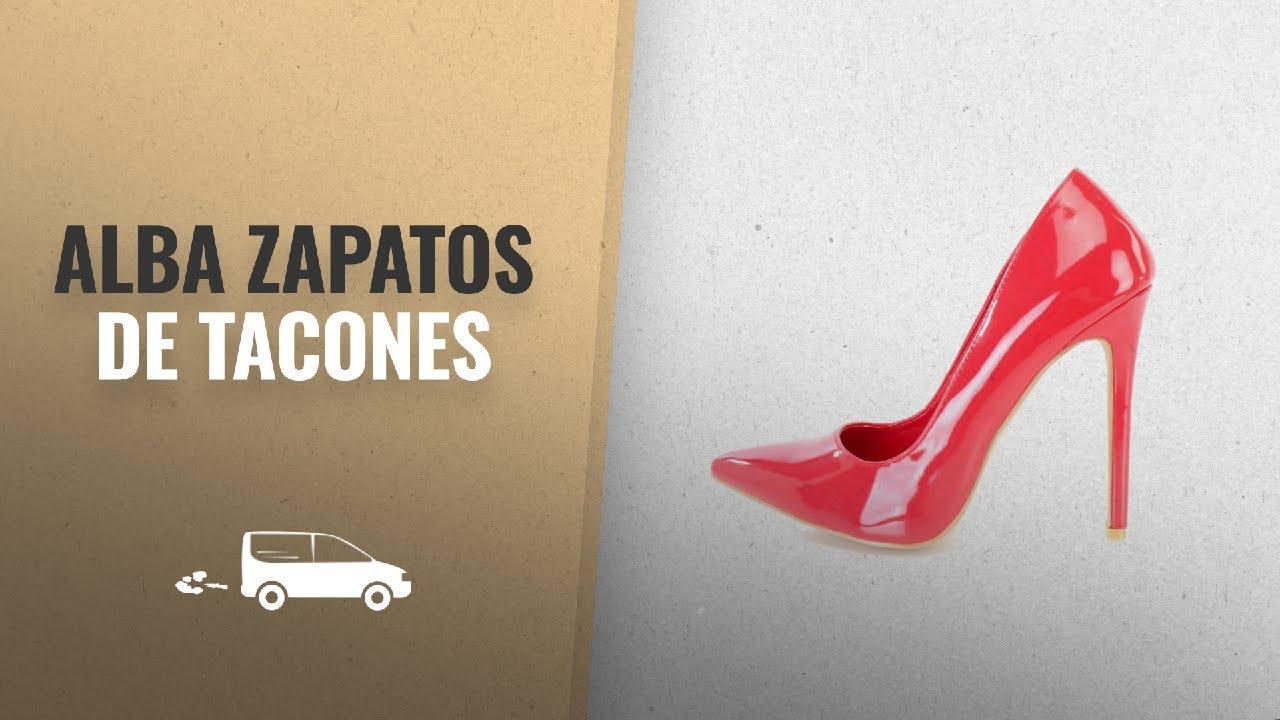 36c37b3aa9 Alba Zapatos De Tacones 2018 Mejores Ventas: Alba Ricky-6 Red Single ...