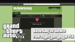 GTAV BAWSAQ Market Is Down For Maintenance | FIX