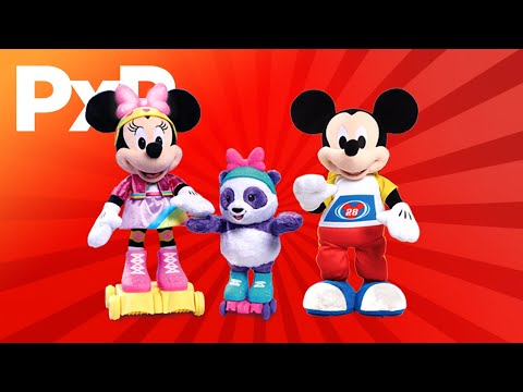 Move and groove with Just Play's Mickey Mouse and Minnie Mouse toys! | A Toy Insider Play by Play