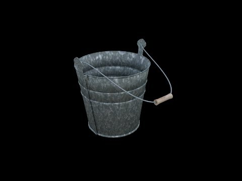 Blender Tutorial: Metal Beach Bucket