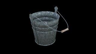 Blender Tutorial: Metal Beach Bucket