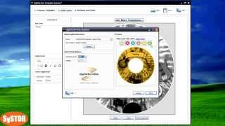 Lightscribe tutorial - how to create a LSI image and burn it on a dvd duplicator