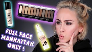 FULL FACE USING ONLY MANHATTAN PRODUCTS | Hatice Schmidt