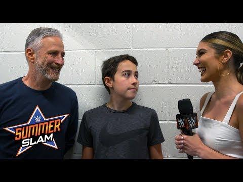 Jon Stewart recalls his SummerSlam encounter with John Cena: SummerSlam Exclusive, Aug 19, 2018