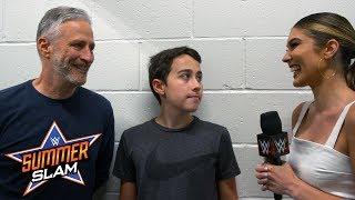 Jon Stewart recalls his SummerSlam encounter with John Cena: SummerSlam Exclusive, Aug. 19, 2018