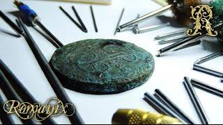 Обзор инструмента  для механической чистки монет