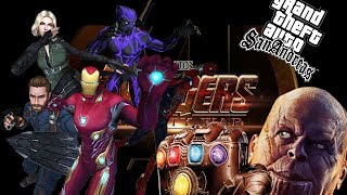 Avengers Infinity War - GTA San Andreas DYOM and MOD Gameplay Teaser