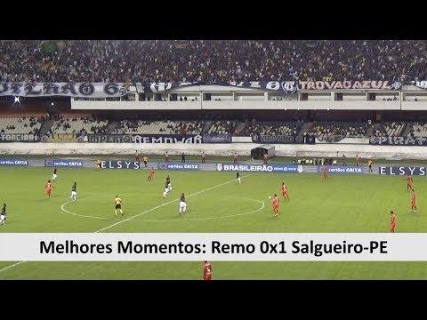Melhores Momentos: Remo 0x1 Salgueiro PE - Série C - 03/06/2018