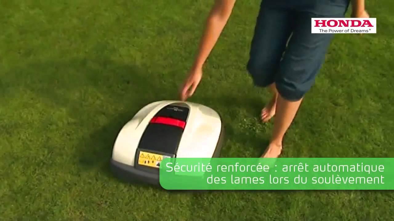 tondeuse robot honda mimo youtube. Black Bedroom Furniture Sets. Home Design Ideas