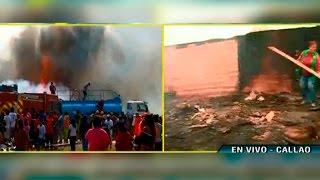 Niña muere en incendio en su vivienda del Callao