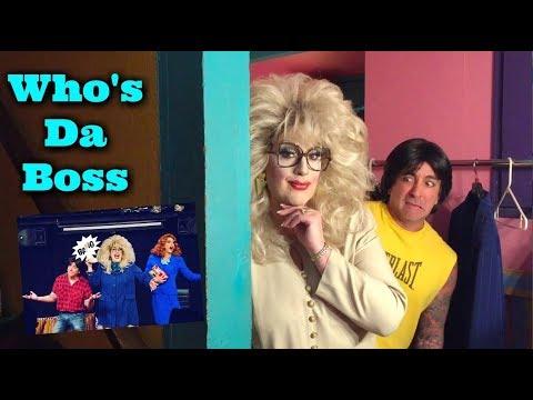 Who's Da Boss  Behind The Drag Curtain