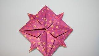 Origami Kompassrose Compass Rose Wind Rose