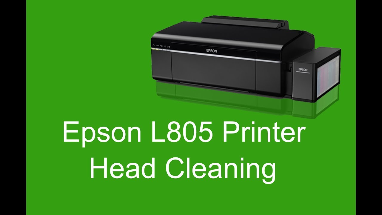 Epson L805 printer head Cleaning