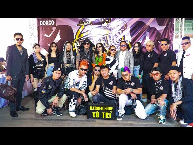ThaiLand Trip | Mr.Trí Tam Quốc Cùng Xã Đoàn Vũ Trí tại Thái Lan Barber Convention