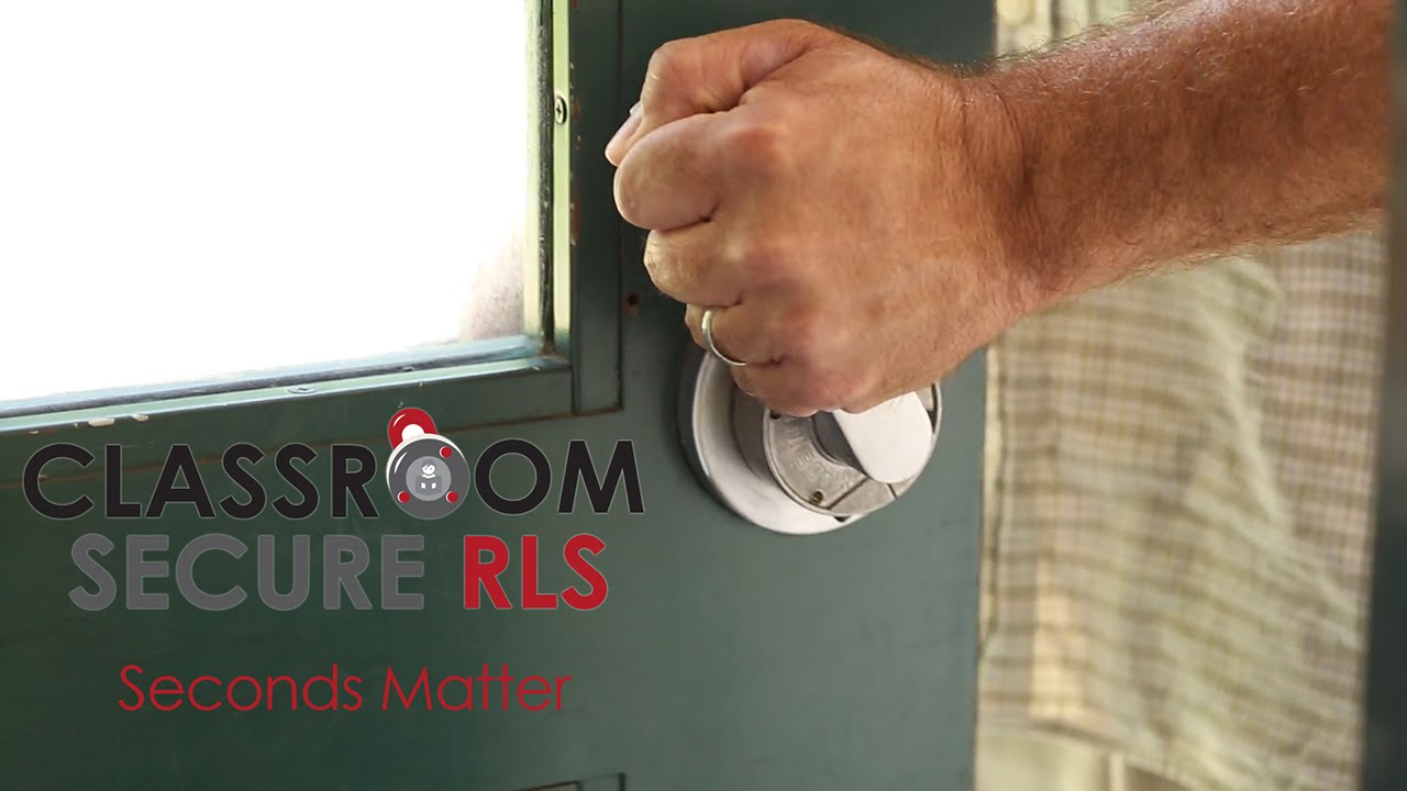 How it works - Classroom Secure Rapid Lock System