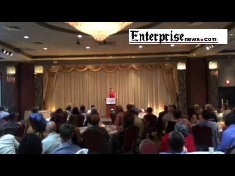 Rebecca Lobo talks about her childhood at the Enterprise All-Scholastics