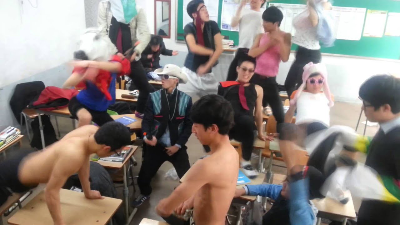 The Harlem Shake-Korean high school student - YouTube