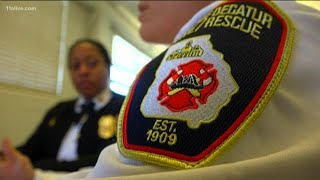 Only all-woman fire command staff in the world is in metro Atlanta