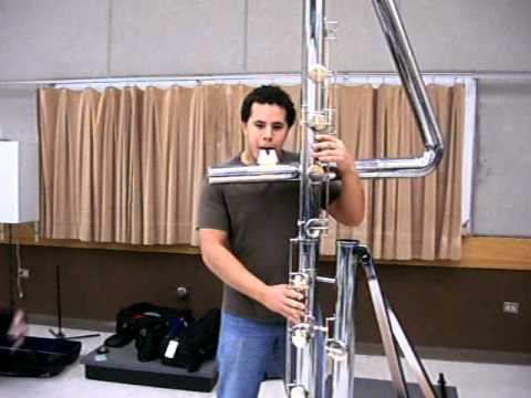Jose Valentino Beatboxing on Double contrabass flute - YouTube  Double Contrabass Flute Case
