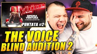 The Voice - Blind Audition *SECONDA PARTE* ( prima puntata 2019) tvoi 2019
