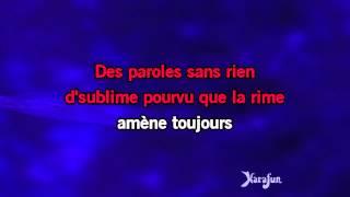 Karaoké Trois petites notes de musique - Yves Montand * Video