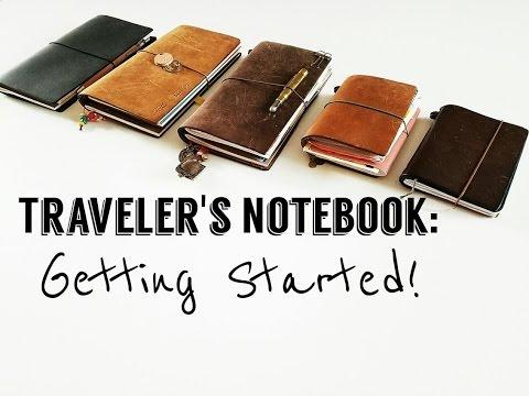(Midori) Traveler's Notebook Journey- Getting started!