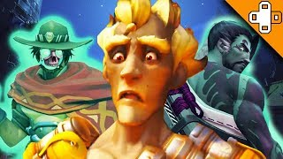 GHOST ENEMIES?! Overwatch Funny & Epic Moments 404
