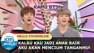 Masih Ingat Saat BTS ke Hello Counselor? |Hello Counselor| SUB INDO | 170312 Siaran KBS World TV
