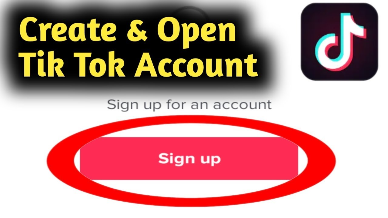 How to Create & Open Tik Tok Account 2020