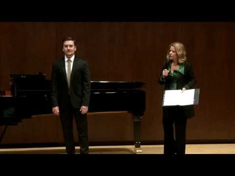 Renée Fleming Master Class, February 13, 2014: Miles Mykkanen and Dimitri Dover