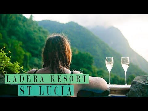 LADERA RESORT ST LUCIA ROOM TOUR  | OUR LUXURY CARIBBEAN HONEYMOON TRAVEL VLOG