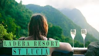 LADERA RESORT ST LUCIA ROOM TOUR  | OUR LUXURY CARIBBEAN HONEYMOON TRAVEL VLOG Video