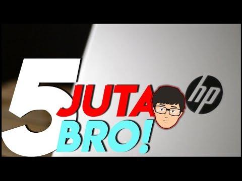 Laptop Multimedia 5 Juta Kuat DOTA 2 + GTA V ? HP 14BW002AX Review !