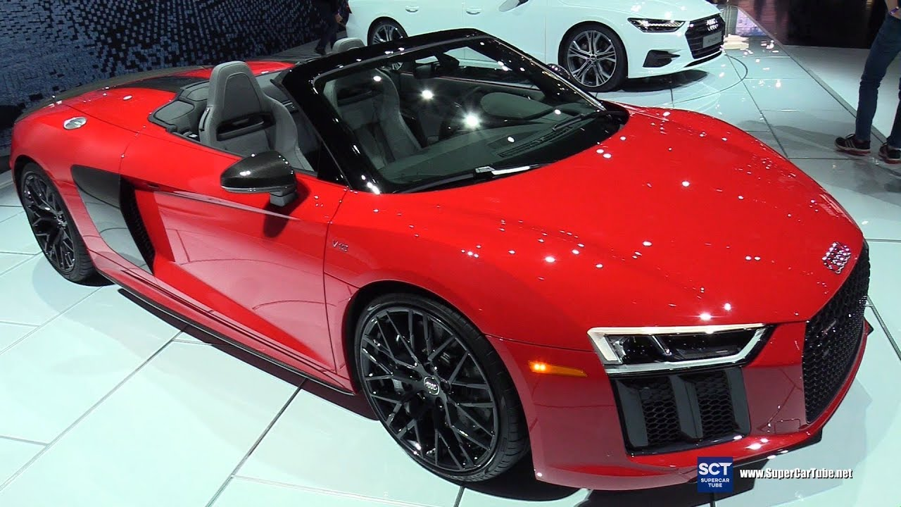 2018 Audi R8 V10 Plus Exterior And Interior Walkaround 2018 Detroit Auto Show