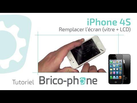 Tutoriel : Changer la vitre et le lcd iphone 4S démontage + remontage