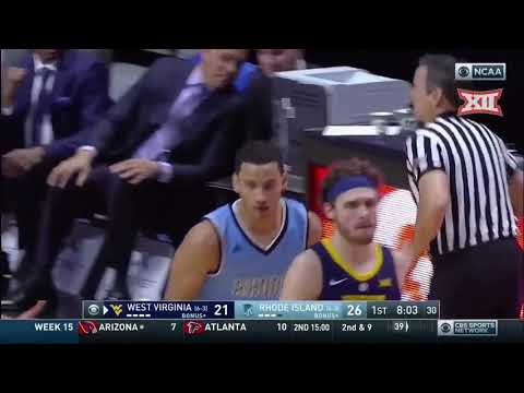 WVU vs Rhode Island Men's Basketball Highlights