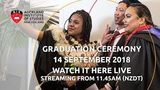 Auckland Institute of Studies Graduation Ceremony 2018