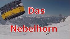 Gleitschirmfliegen/Paragliden am Nebelhorn in Oberstdorf